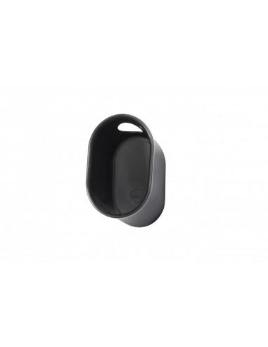 Loop helmet and accessory storage. Black